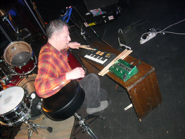 Pete at his Electro-Magic Station at The Locomotiv.