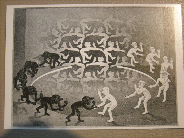 One of Escher's best works.