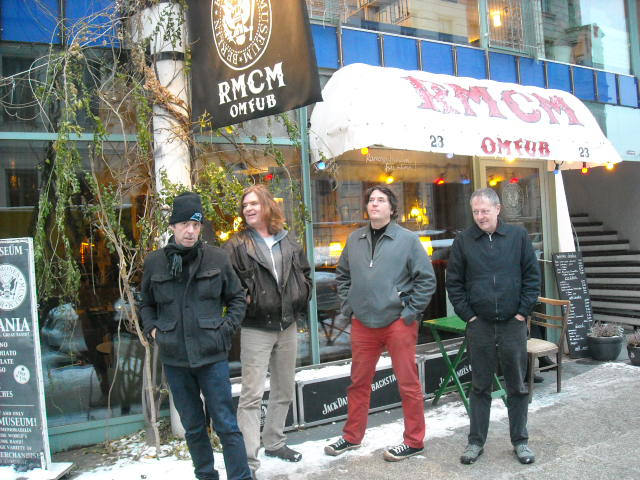Burma at the Ramones Museum (Berlin).